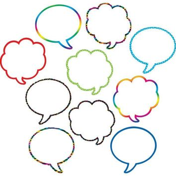 Speech-thought Bubbles Accents