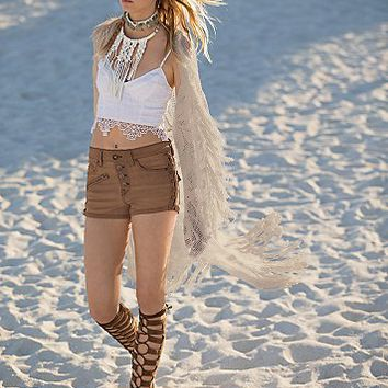 Free People Womens Old West Denim Short