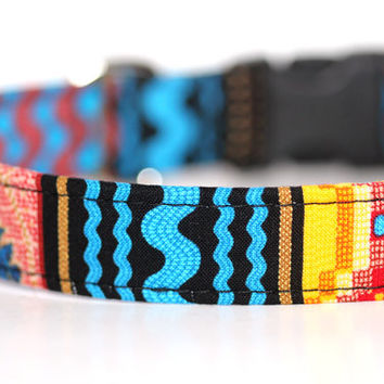 Martingale Dog Collar Native American, Navajo Collar - Tribal, indian - Country Cabin