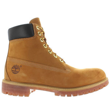 "Timberland Earthkeepers Premium Icon 6"" - Waterproof Wheat Nubuck Classic Work Boot"