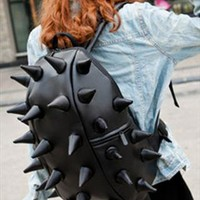 Hedgehog Pu Leather Backpack from alanchen