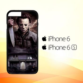 Michael Myers Halloween Z1319 iPhone 6|6S Case