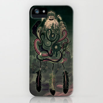 The Dream Catcher: Old Hag's Bane iPhone Case by Mat Miller | Society6