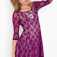 Iris Lace Dress in Clothes Dresses Day at Nasty Gal