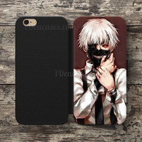 Wallet Case For iPhone 6S Plus 5S SE 5C 4S case, Samsung Galaxy S3 S4 S5 S6 Edge S7 Edge Note 3 4 5 Tokyo Ghoul Comic Cases