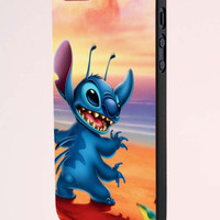 Disney Stitch And Lilo Best Friend Couple Right Case iPhone 5 Case