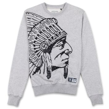 Grand Hustle Gang Massive Crewneck Sweatshirt - Heather Grey