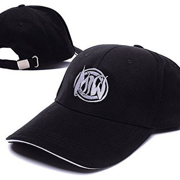 Motionless In White Band Logo Adjustable Baseball Caps Unisex Snapback Embroidery Hats