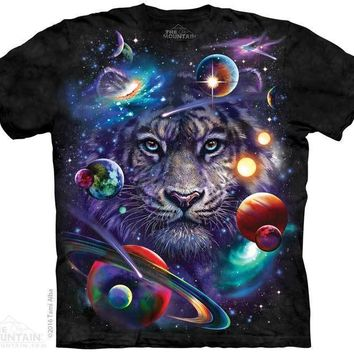 New WHITE TIGER COSMOS T SHIRT