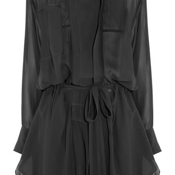 Isabel Marant - Carla silk-georgette mini dress