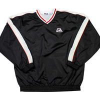 Vintage 90s FILA Windbreaker Jacket Mens Size Large