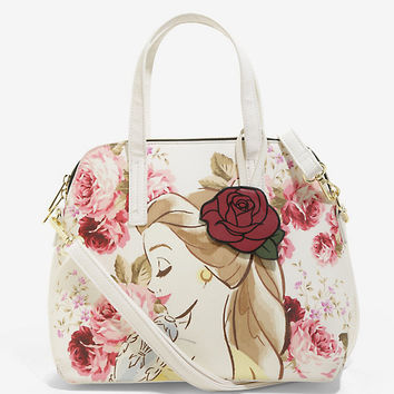 Loungefly Disney Beauty And The Beast Beauty Is Found Within Limited Edition Satchel Bag