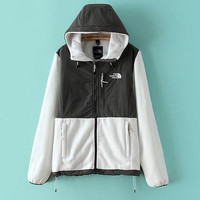 The North Face Hooded cardigan sweater