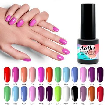 29 Colors Soak Off Gel Polish UV Resin Varnish Nail Gel Polish 8ml UV Gel Nail Polish Lacquer Color Gel Lucky ZJJ022