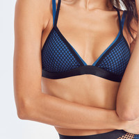 Out From Under Double Up Fishnet Bra | Urban Outfitters