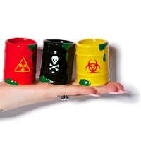 Big Mouth Toys Toxic Waste Shot Glass Set Multi One