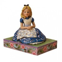 Disney Traditions designed by Jim Shore for Enesco Alice in Wonderland Figurine 4 IN