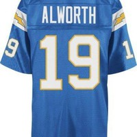 San Diego Chargers Mitchell & Ness 1963 Lance Alworth #19 Replica Throwback Jersey