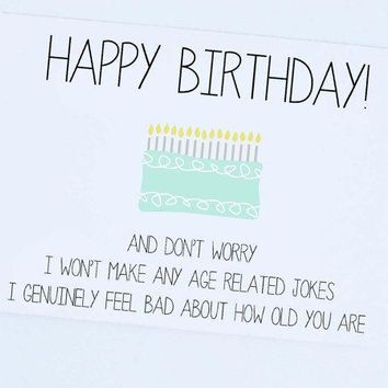 Happy Birthday  Funny Card Birthday Greeting Card Birthday Wishes