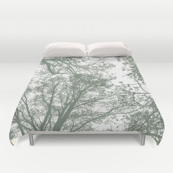 Abstract Trees Duvet Cover by ARTbyJWP