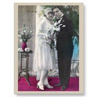 48 Wedding Postcard
