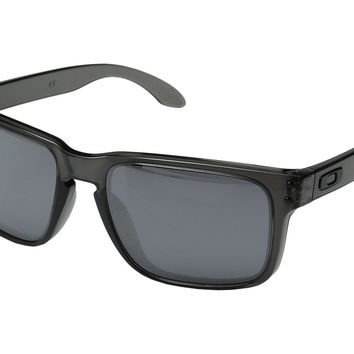 Oakley Holbrook Sunglasses w/Smoke Grey Frame and Black Iridium Lens OO9102-24