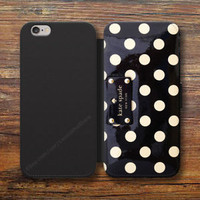 Kate Spade Case For iPhone 8/7/6S Plus 5S Wallet Samsung S9 S8 S7 S6 Note Cases