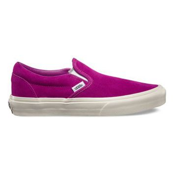 Vans Vintage Suede Slip-On (fuschia)