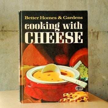 Vintage Cooking With Cheese Better Homes & Gardens Recipe Book