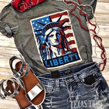Liberty Stamp Graphic Tee (S-2XL)