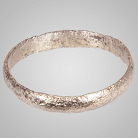 Ancient Viking  Wedding Band Jewelry C.866-1067A.D. Size 11   (20.6mm)(Brr661)