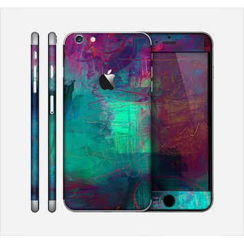 The Abstract Oil Painting V3 Skin for the Apple iPhone 6 Plus