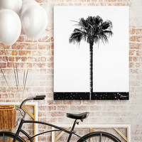 «Coconut Tree», Numbered Edition Canvas Print by Uma Gokhale - From $49 - Curioos