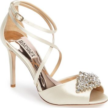 Badgley Mischka Tatum Embellished Strappy Sandal (Women) | Nordstrom