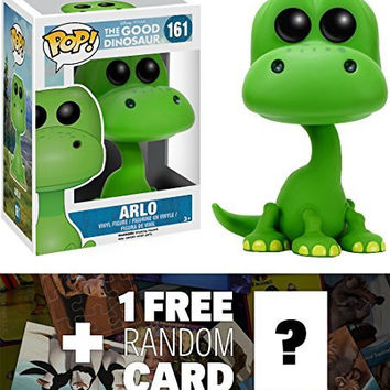 Arlo: Funko POP! x Good Dinosaur Vinyl Figure + 1 FREE Classic Disney Trading Card Bundle [63924]