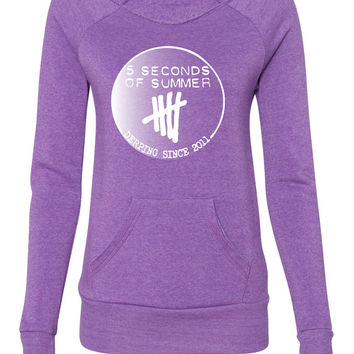5 sos ladies sweatshirt