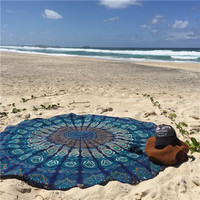 Large Chiffon Printed Beach Towel Bohemia Wind Scarf