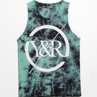 Young and Reckless Trade Circle Tie Dye Tank Top at PacSun.com