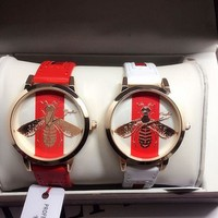 ''GUCCI'' Ladies Watch Little bee Ltaly Stylish Watch