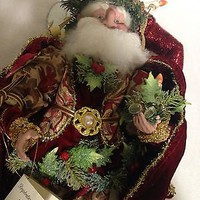 Mark Roberts Candlelight Fairy Christmas Santa 20""