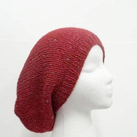 Slouch hat red sparkle  5251