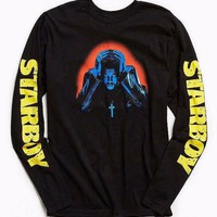 The Weeknd STARBOY PHOTO Long Sleeve T-Shirt NEW 100% Authentic RARE!!!