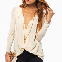 Never Been Draped Top $23