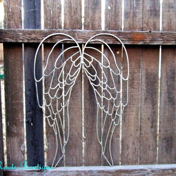 Angel Wings Metal Wall Decor