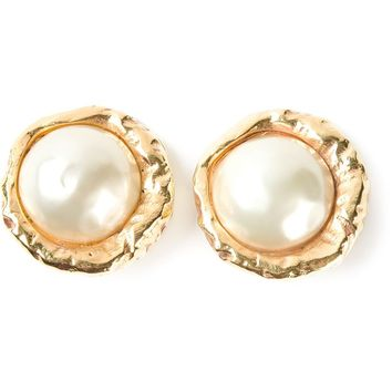 Givenchy Vintage 'Moon' clip-on earrings