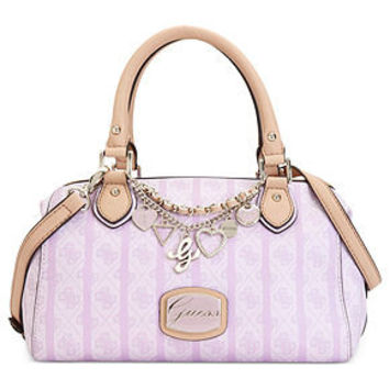 GUESS Handbag, Jasleen Small Box Satchel - Handbags & Accessories - Macy's