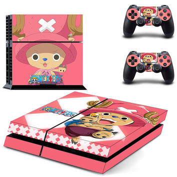 One piece design skin for ps4 decal sticker console & controllers