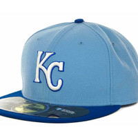 Kansas City Royals MLB Authentic Collection 59FIFTY Cap