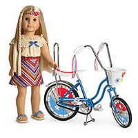American Girl® Dolls: Julie's Bike & Summer Skirt Set
