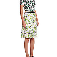 Stella McCartney - Petra Floral Print Dress - Saks Fifth Avenue Mobile